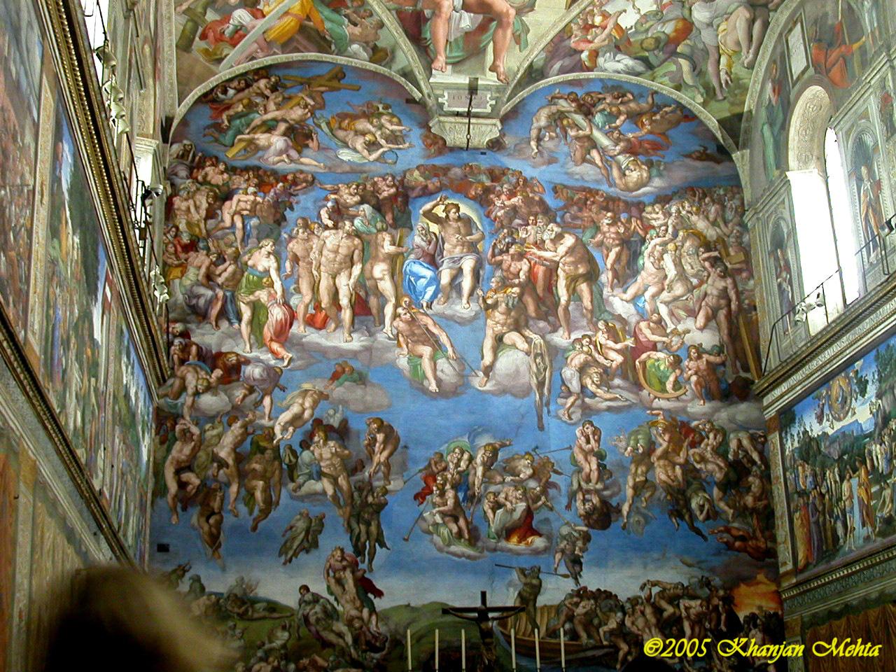 Capela sistină - Vatican