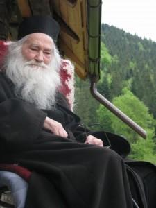 Parintele Justin Parvu - iunie 2011