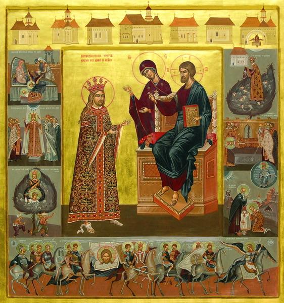 Stefan cel Mare si Sfant _ icoana