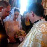 Nunta la manastirea Paltin oficiata de Parintele Justin, iar ca nas pr. prof. Mihai Valica
