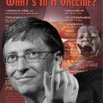 Bill Gates dezvaluie o alta metoda de control a cresterii populatiei: inregistrarea pe mobil a fiecarei nasteri pentru a asigura vaccinarea. Se incepe cu poliomelita