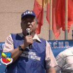 Cadrele militare disponibilizate protesteaza contra bolsevismului portocaliu si a dictatorului Basescu