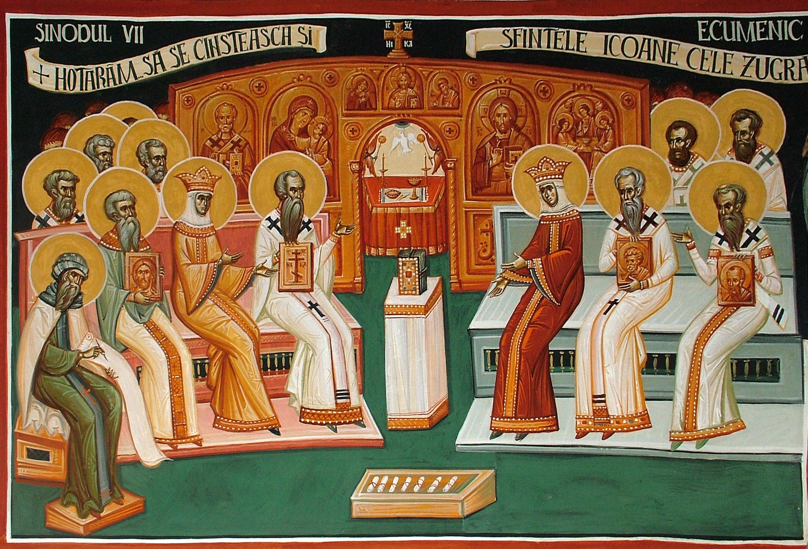 Image result for Sinodul VII Ecumenic