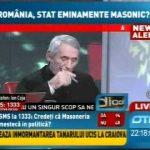 """""""Nationalistul"""" Ion Coja declara ca """"Democratia nu poate functiona fara sprijinulmasoneriei"""""""