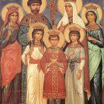 Sfantul Mucenic Tarul Nicolae al II-lea si familia sa de martiri