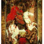 Minunea cu biruirea vrajmasului balaur de catre Sfantul Mare Mucenic Gheorghe