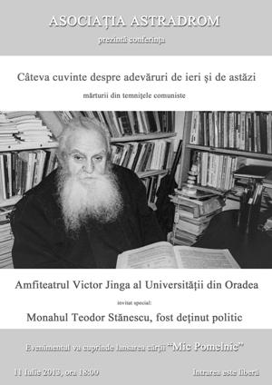 monahul Stanescu afis MIC