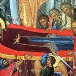 Sf. Simeon Metafrastul și Sf. Maxim Mărturisitorul despre înălţarea trupului Maicii Domnului la ceruri