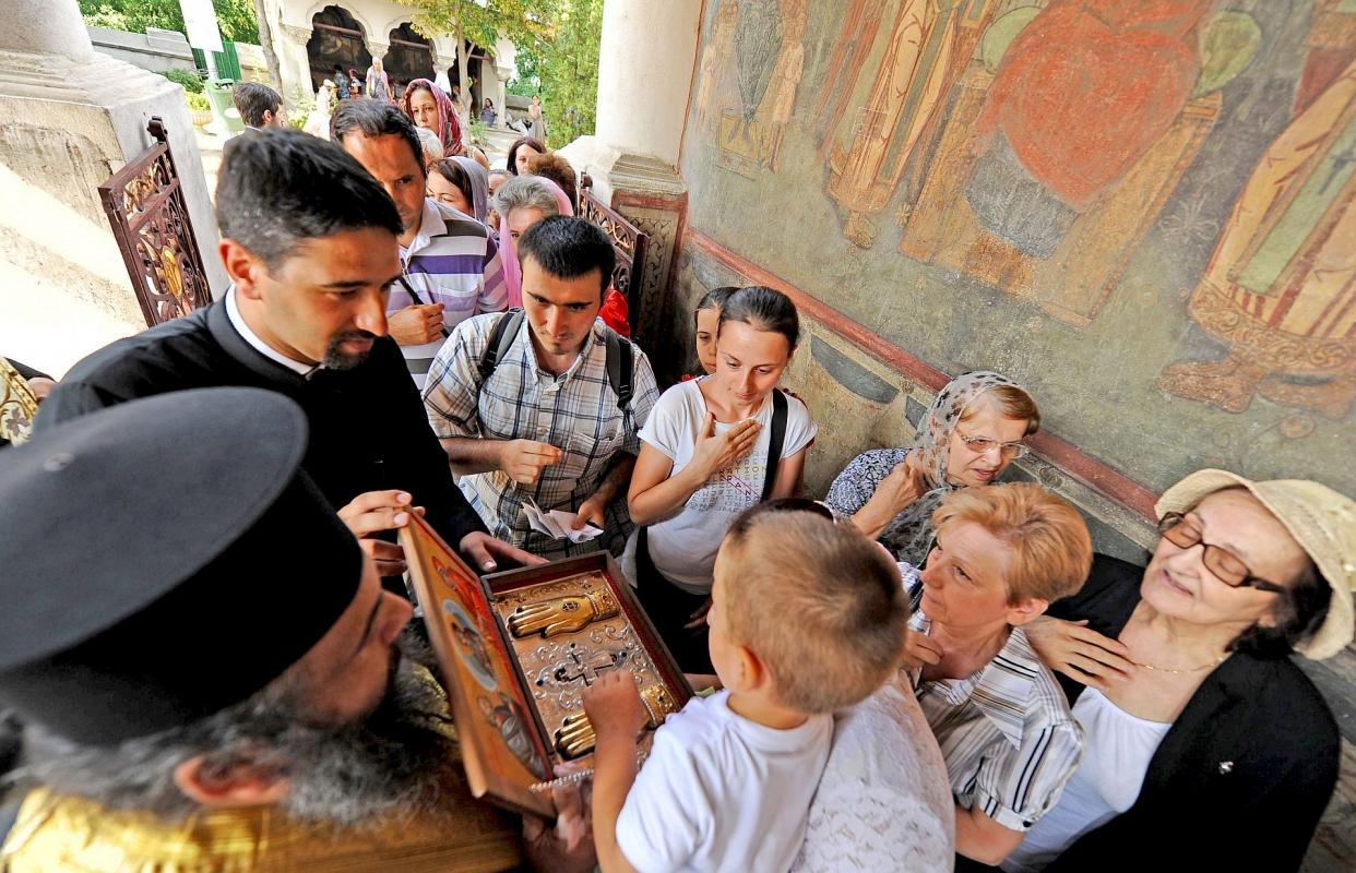 moaste Sf. Ioachim si Ana in Romania