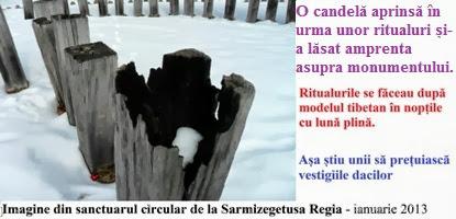 Sarmizegetusa Regia - dupa ritualuri de noapte 3