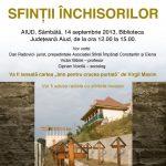 Conferință dedicată Sfinților Închisorilor, 14 septembrie, de Ziua Crucii, la Aiud