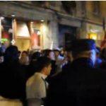Protestele Rosia-Montană de la Brașov. Protestatarii îi acuză pe jandarmi că au folosit VIOLENȚA