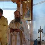 Mănăstirea Petru Vodă la primul hram fără Părintele Justin. Părintele Justin la primul hram alături de Sfinții Arhangheli, în cer