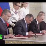 Putin a semnat tratatul prin care Crimeea și Sevastopol devin parte a Rusiei. Obama convoacă G7