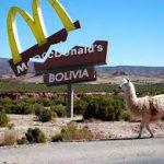 Bolivienii au provocat falimentul McDonald's
