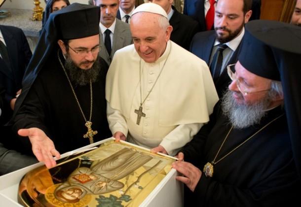 papa apostoliki diakonia