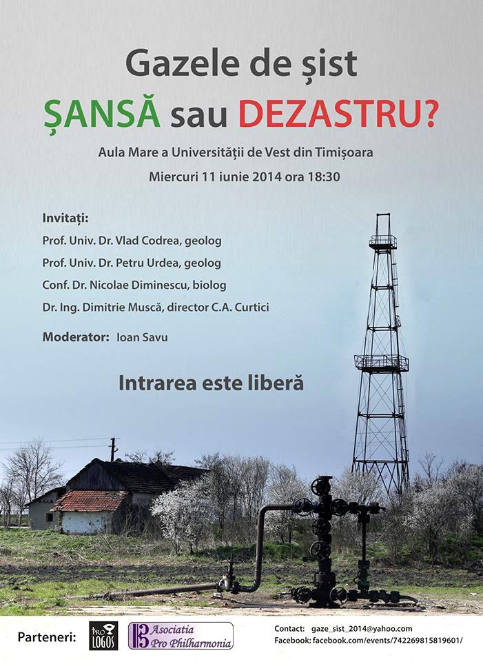 Timisoara conferinta gaze de sist