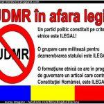 MOBILIZARE NAȚIONALĂ: Petiție pentru desființarea UDMR