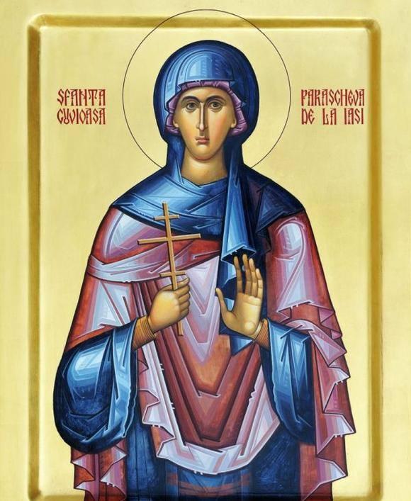 Sfânta Cuvioasă Parascheva - icoana 2014