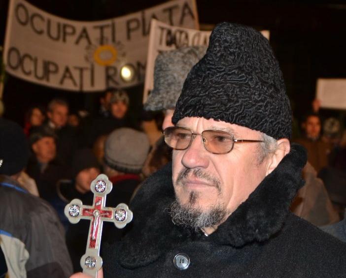 preot la protest