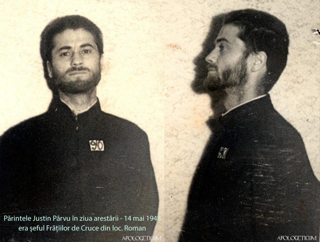 Parintele-Justin-Parvu-14 mai-1948-ziua arestarii